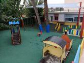 El Ayuntamiento de Molina de Segura invierte unos 50.000 euros en obras de mejora en los parques de las escuelas infantiles La Inmaculada, Consolación y Cañada de las Eras