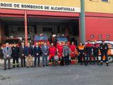 La Comunidad cede un nuevo vehículo para Protección Civil de Alcantarilla