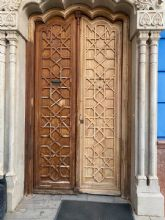 Restauración y rehabilitación de la puerta de la Casa de Cultura