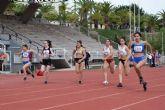 Buenas marcas en el control disputado en Murcia para atletas del UCAM Cartagena