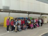 Alumnos del colegio Severo Ochoa visitan el Ecoparque municipal