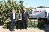 Agricultura dona 500 kilos de limón y pomelo a Cáritas en Torre Pacheco