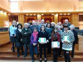 La Concejalía de Bienestar Social de Molina de Segura entrega los premios del Concurso para diseñar el logotipo de la Asociación de Mayores para un Envejecimiento Activo y Saludable del municipio
