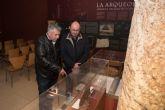 El museo de la Factoría Romana expone los restos de época fenicia hallados por los alumnos del curso de arqueología subacuática