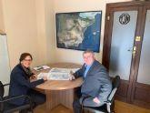 La presidenta de la MCT continúa en Calasparra con la ronda de visitas de alcaldes de municipios mancomunados