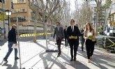 El peatón gana 15.000 m2 en el centro de Murcia con el inicio de las obras de la Fase II de la avenida Alfonso X