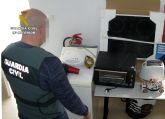 La Guardia Civil investiga a una pareja dedicada a cometer robos en viviendas de Mazarrón