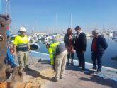 Fomento inicia las obras del Varadero del puerto de San Pedro que mejorarán la seguridad y el medio ambiente del entorno