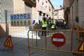 Continúan las obras de arreglo de las calzadas adoquinadas en distintas calles del centro histórico de la ciudad