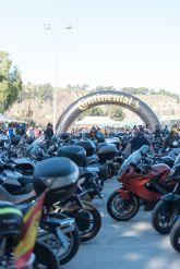 Down Cieza recibe parte de la recaudación de la ruta motera Floración de Los Dormis que atrajo mil motos y millar y medio de personas