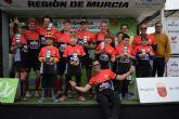 M�s de 50 deportistas dan inicio en Mazarr�n al campeonato regional de trial bici