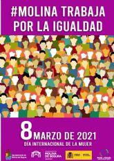 La Concejalía de Igualdad de Molina de Segura conmemora el 8 de Marzo con un amplio programa de actividades