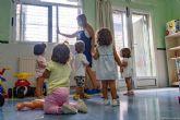 Abierto el plazo de matriculaciones en las Escuelas Infantiles Municipales de Cartagena