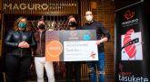 Maguro Square Sushi entrega a Abamur la recaudación de la iniciativa 'Tasukete, el sushi solidario'