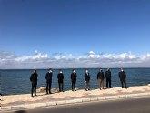 Empiezan los trabajos de planificación de la Meta de la Vuelta 2021  en La Manga del Mar Menor
