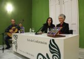 La poeta lumbrerense Carmen Martínez presenta su nuevo libro 'Getsemaní, mi pasión'