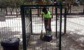 El Ayuntamiento aumenta las revisiones de las 46 zonas de esparcimiento canino para que estén en perfectas condiciones