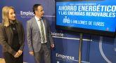 Más de 5 millones para favorecer el ahorro energético e implantar energías renovables en las empresas de la Región