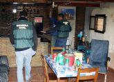 La Guardia Civil desmantela un punto de venta de droga al menudeo en Cehegín