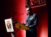 El coronel director de la AGA , Miguel Ivorra pregonó la Semana Santa en Santiago de la Ribera