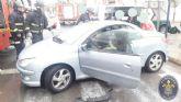 Rescatado un hombre que había quedado atrapado en su vehículo tras sufrir un accidente de tráfico