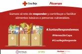 Alcampo pone en marcha #JuntosRespondemos con el fin de recaudar fondos para el Plan Cruz Roja RESPONDE