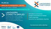 El inicio de la Lanzadera Conecta Empleo de Murcia se pospone a finales de mayo