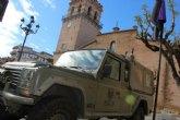 El Ej�rcito de Tierra refuerza la vigilancia de circulaci�n a los diferentes barrios, caminos rurales del extrarradio, pedan�as y Sierra Espuña