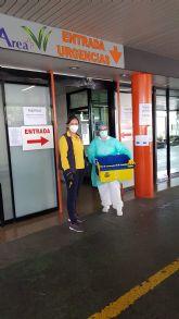 Correos llevará comida al personal sanitario de los hospitales de Murcia
