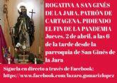 Rogativa al Patrón de Cartagena, San Ginés de la Jara