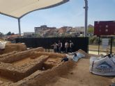 Cultura colabora con el Ayuntamiento de Librilla en la restauración del yacimiento romano de ´El Salitre´
