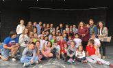 El director general de Juventud despide a los exploradores de la Región antes de su participación en el XLII Festival Nacional de la Canción Scout