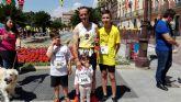 Participaci�n del CAT en la media marat�n de �guilas y la Run For Parkinson�s