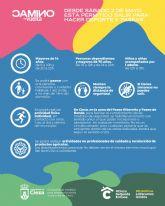Condiciones en las que se puede realizar actividad física no profesional al aire libre