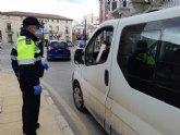 La Polic�a Local efect�a controles a un total de 9.176 veh�culos y personas; y tramita 423 procedimientos sancionadores desde que se decret� el estado de alarma