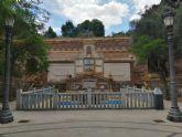 Denuncia el estado en el que se encuentra la fuente del Santuario de la Virgen de la Fuensanta