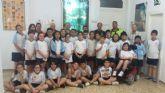 Alumnos del Colegio La Milagrosa entregan a Protección Civil el Plan de Emergencias de su centro de enseñanza elaborado por ellos mismos