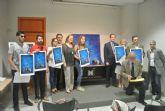 Diez murcianos son premiados con un cuadro de Ángel Haro por su participación en el Día y la Noche de los Museos