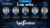 Facundo Campazzo, líder en puntos y valoración de los cuartos de final de los Playoff de Liga Endesa