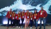 El Club Natación Ciudad de Murcia hace historia en el Campeonato de Europa de natación máster de Londres