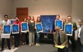 Comunidad y Ayuntamiento de Murcia entregan las obras de Ángel Haro a los ganadores de ´La noche y el día de los museos´