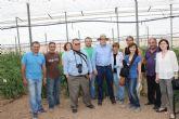 Una delegación de Asaja-Águilas visita las instalaciones del Imida