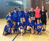 Los colegios Manuela Romero y Ginés García se proclaman campeones regionales en fútbol sala y baloncesto escolar