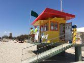 Las playas de San Javier ya tienen vigilancia