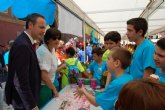 Cerca de 2.300 alumnos muestran los productos elaborados en sus cooperativas escolares en el 'Mini Market 2016'