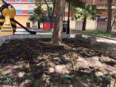 El vivero municipal proporciona 5.000 plantas a jardines y puntos verdes del municipio