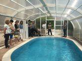 Aidemar recupera su piscina terapéutica que llevaba cuatro años cerrada
