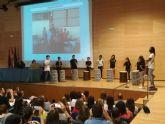 Alumnos de Los Rosales participan en la inauguración de las jornadas para profesores de los centros de actuación educativa preferente