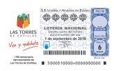 La Lotería Nacional homenajeará el 700° aniversario como mayorazgo de Las Torres de Cotillas