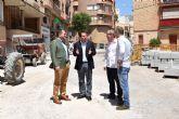 La Comunidad financia obras de mejora en tres calles de Mula